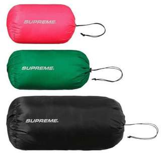 Supreme Nylon Ditty Bag 1set 3個