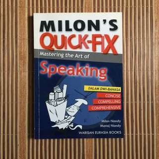 MASTERING ART OF SPEAKING BOOK