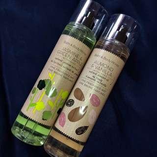Jasmine & Green Apple and Almond & Vanilla