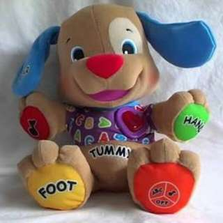 Fisher Price Love to Laugh & Learn Puppy..