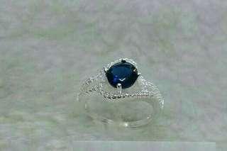 Rwstocked: genuine 925 silver ring size 5