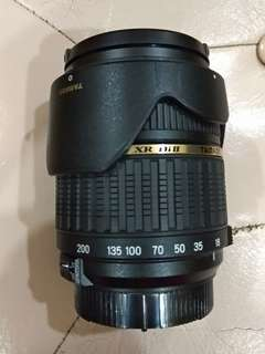 Tamron 18-200 mm for Nikon mount.