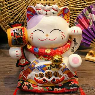 [Sales] large lucky cat - 开运招财猫 attract good luck