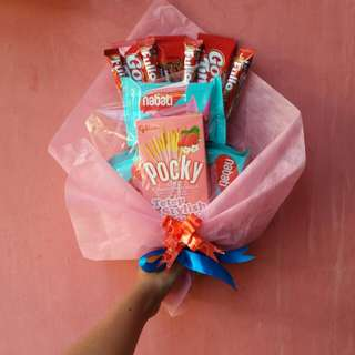 Buket Makanan Food bucket Bouquet snack
