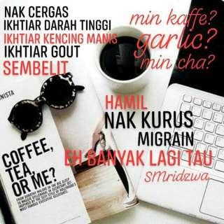 min kaffe,min cha