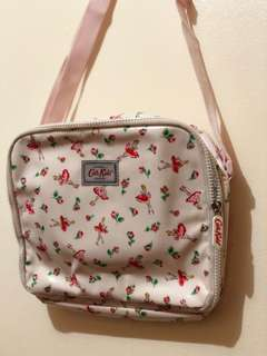 Pink Cath Kidston Insulated Sling Lunch Bag