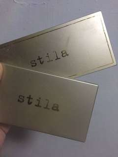 stila highlighting palette & custom contour duo