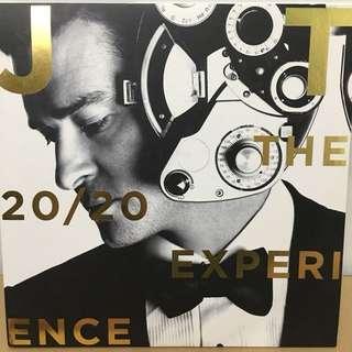 Justin Timberlake 2 vinyl records