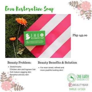One Earth Organics Emu Restorative Soap