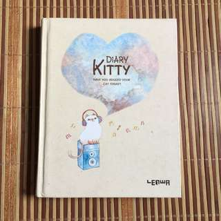 CAT PLAIN NOTEBOOK
