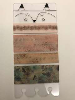 Washi Tape Sampler - Paul & Joe