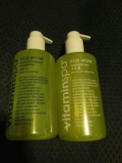 "5🌟Hotel ""VitaminSpa"" Conditioning Shampoo n Shower Gel"