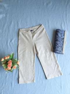 Slim fit grey pants