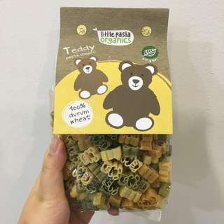 Little Cartoon Organic Pasta - Teddy Bear