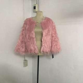 SHACI Faux Fur Coat
