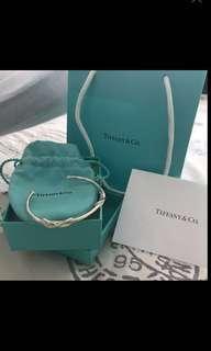 Tiffany & Co sterling silver bangle