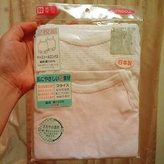 🚚 日本買的100%棉連身衣(2件裝)