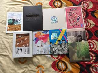 Preloved Kpop Albums