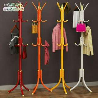 Coat Rack Stainless Steel Hanging Storage Clothes