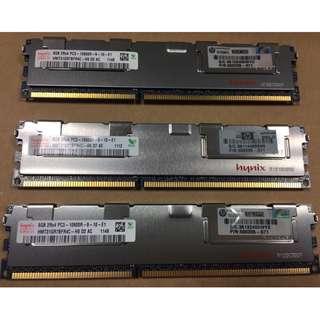 8GB DDR3 Ram - Hynix (ECC - Works only on servers)