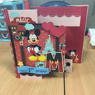 Customised Trifold Card