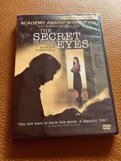 (Brand new) The Secret in Their Eyes DVD