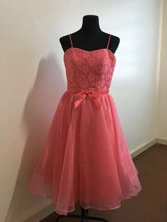 Short Pink Gown