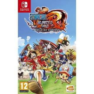 ONE PIECE UNLIMITED WORLD RED DELUXE EDITION ENGLISH [NINTENDO SWITCH] 2