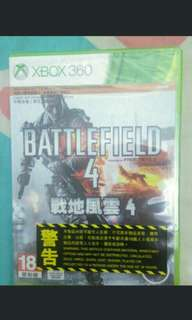 全新 XBox 360 Battlefield 4 戰地風雲4