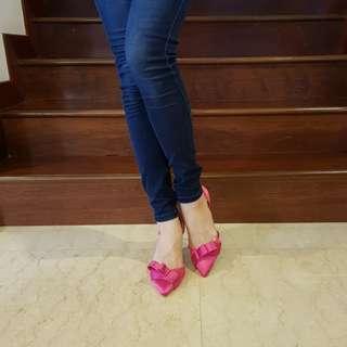 JANE HOLLI Fushia Pink Heels #julypayday
