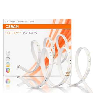 Osram LIGHTIFY LED strip RGBW Flex Band 18W Multi Color / Echo Alexa, Smartthings compatible, smart home