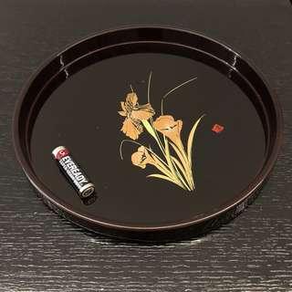 日本漆器木制茶盘