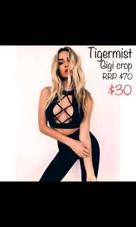Tigermist Crop top
