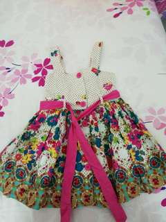 Flower dress 1-2yrs