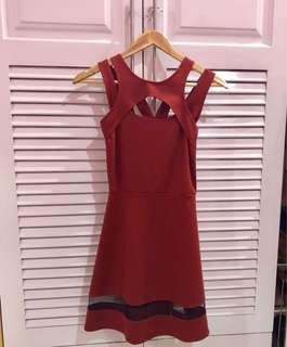 Red Casual/Party/Semi formal Dress