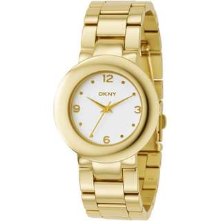 Authentic DKNY Gold Watch