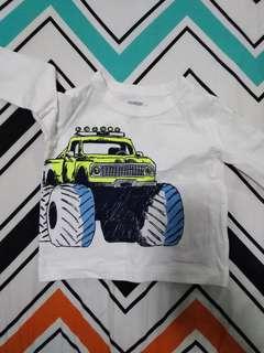 oshkosh long sleeves baby shirt