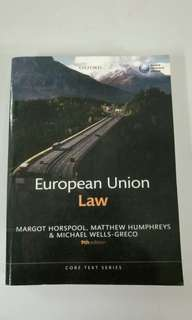 Photoststed copy of European Union Law - 9th edition