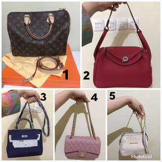 Sale bags woman start from 100k