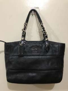 Authentic Coach Tribeca Pure Leather Bag