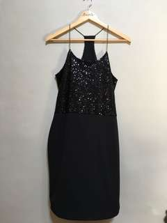 SM Woman Sequined Dress • M
