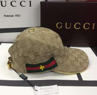 Gucci Cap Canvas