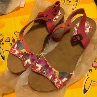 Disigual floral sandals