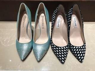 LK Bennett heels & The Essence menbur heels size 35