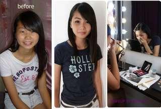 學化妝 一對一個人化妝髮型課程