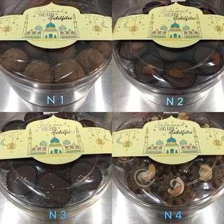 Kuih Raya 5 kotak RM100( FREE DELIVERY )