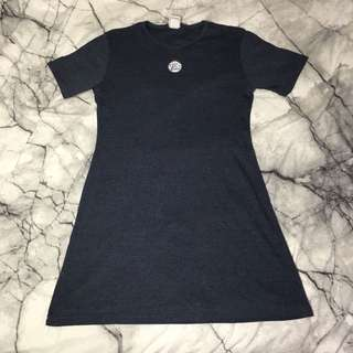 vintage calvin klein short sleeve dress