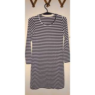BODYCON STRIPES DRESS