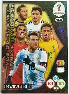 Panini adrenalyn xl world cup full set invincible