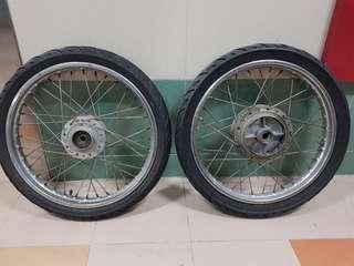 Rxz Union cycles rim 17inch